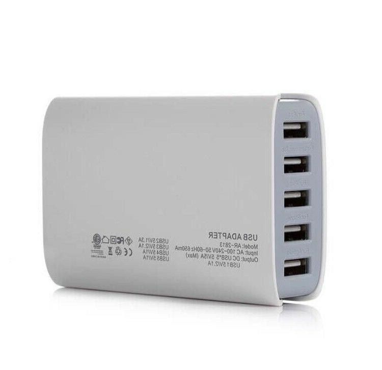 PowerAdd Port USB Charger Travel Adapter Android