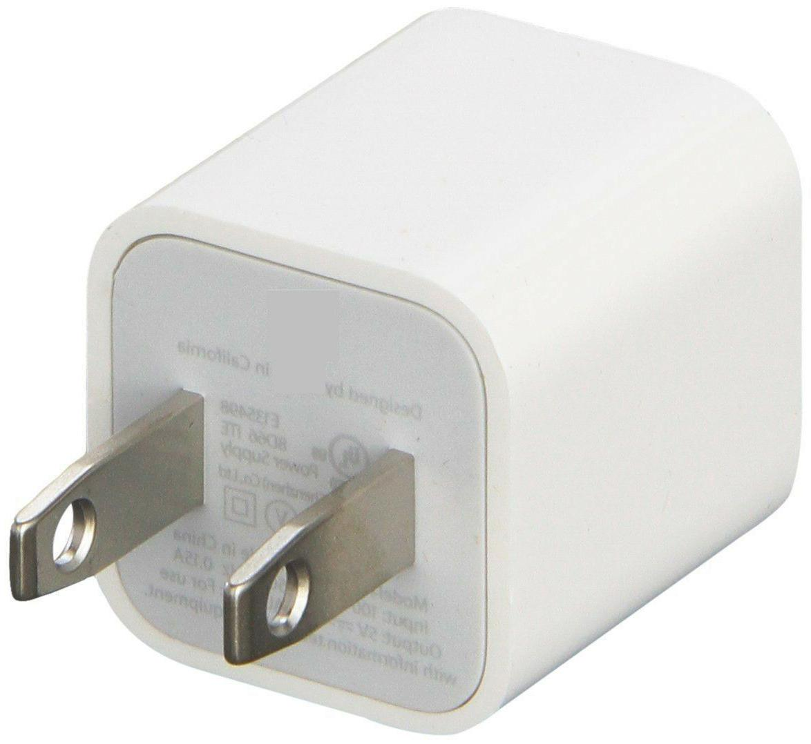 New 5W USB Power Adapter Charger Wall Plug for Apple iPhone
