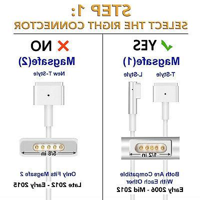 Power Adapter A1330 A1278 60W