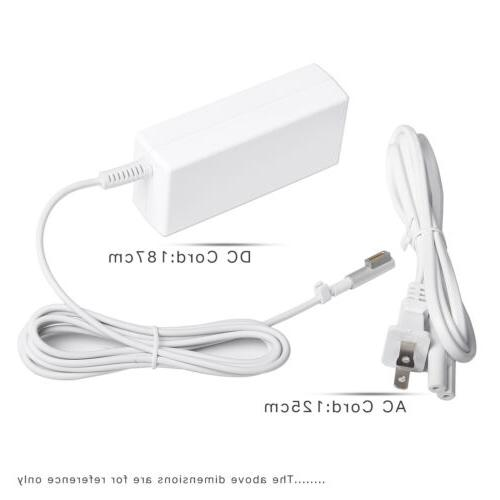 60W AC Power Charger for Apple Macbook Pro 2009-2011 L-Tip