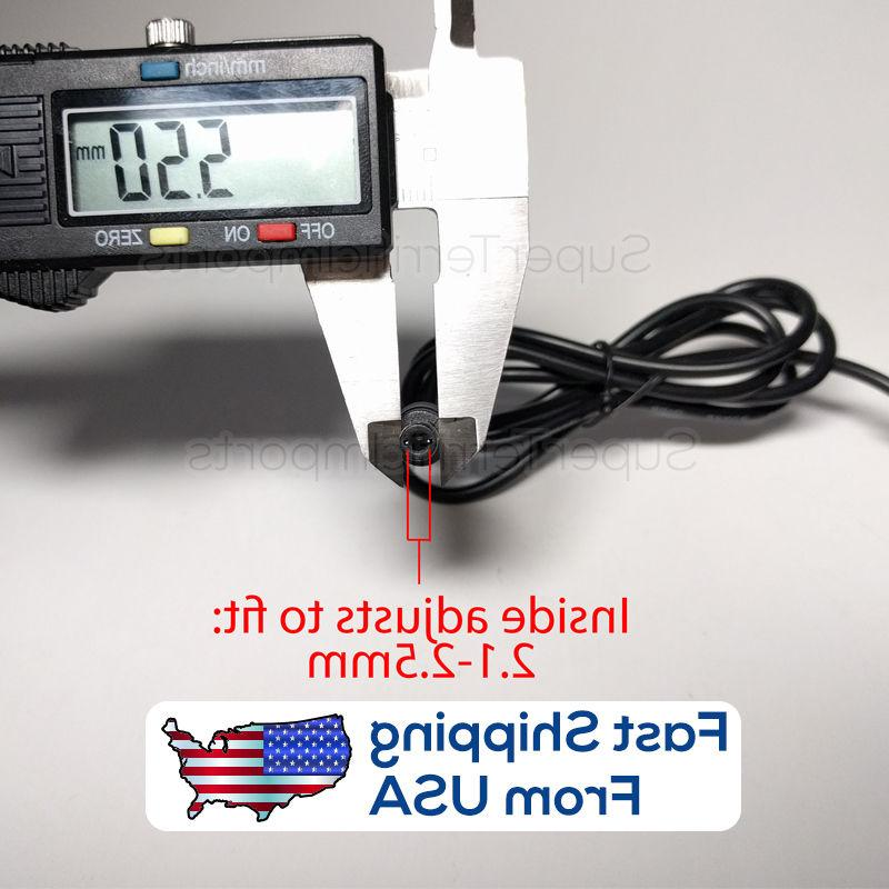 6V 2A Adapter, Charger, AC Transformer 5.5mm 2.1-2.5mm 1A