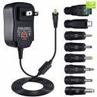 8 pcs SoulBay 15W 3V 4.5V 5V 6V 7.5V 9V 12V AC DC Adapter Sw