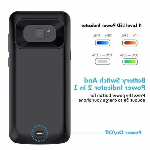 8500mah Battery Case Charger Adapter For S8 S8Plus