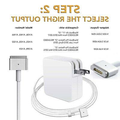 "45W 14.85V Charger Adapter Power Cord Apple Macbook Air 11"" A1466 A1436"