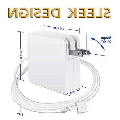 """85W Adapter for Apple Retina 15"""" 2013 2014 2015"""