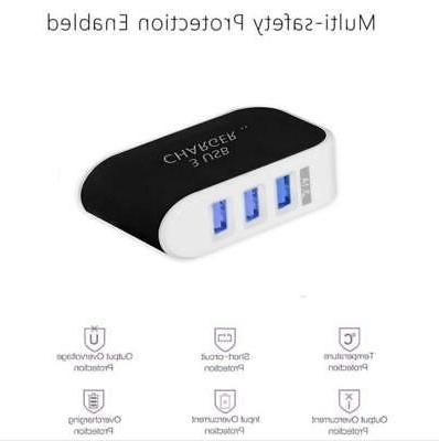8Pcs Wall To USB Socket Adapter