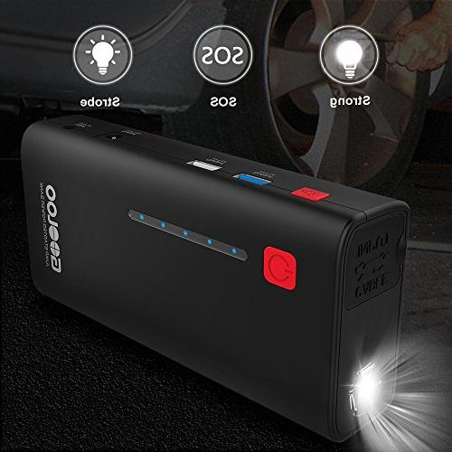 SuperSafe with USB 3.0 , 12V Power Pack Booster Phone Charger LED