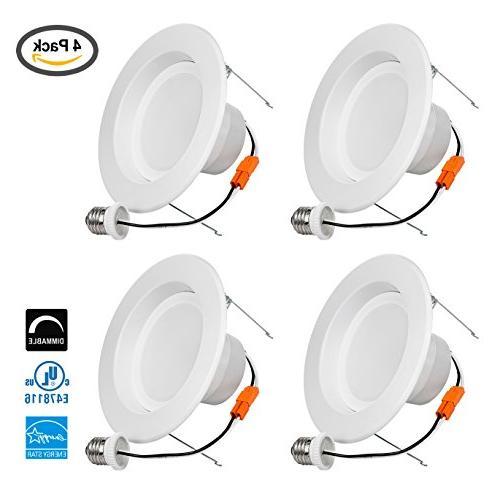 LB13114 5/6 Inch LED Downlight Retrofit Recessed Lighting Fi