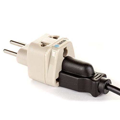 OREI Grounded in 1 Plug Type J Switzerland & more - WP-J-GN