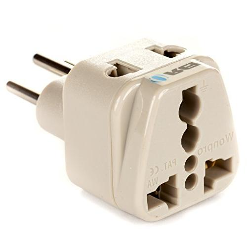 OREI in Plug Adapter Type for & Certified - WP-J-GN