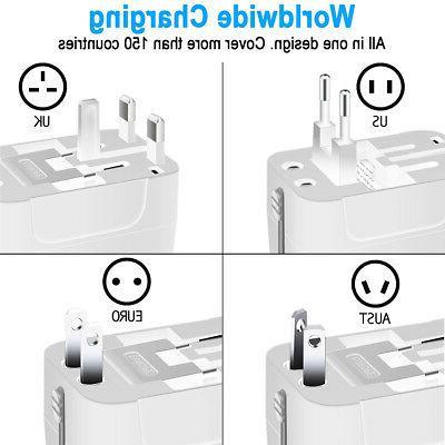 Universal In Power Adapter Socket USB