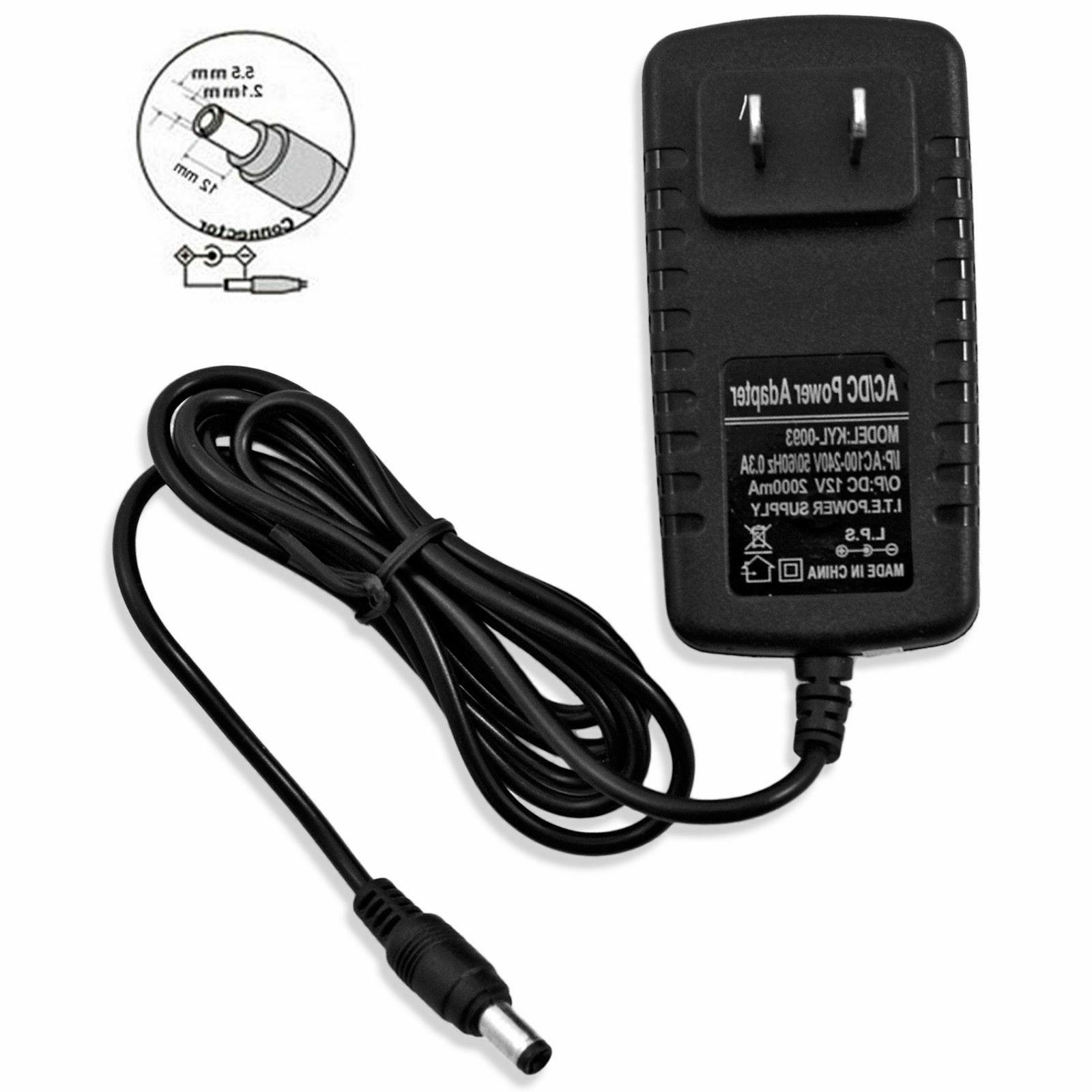 AC 100-240V to 12V Adapter LED Light Strip 24W SMD