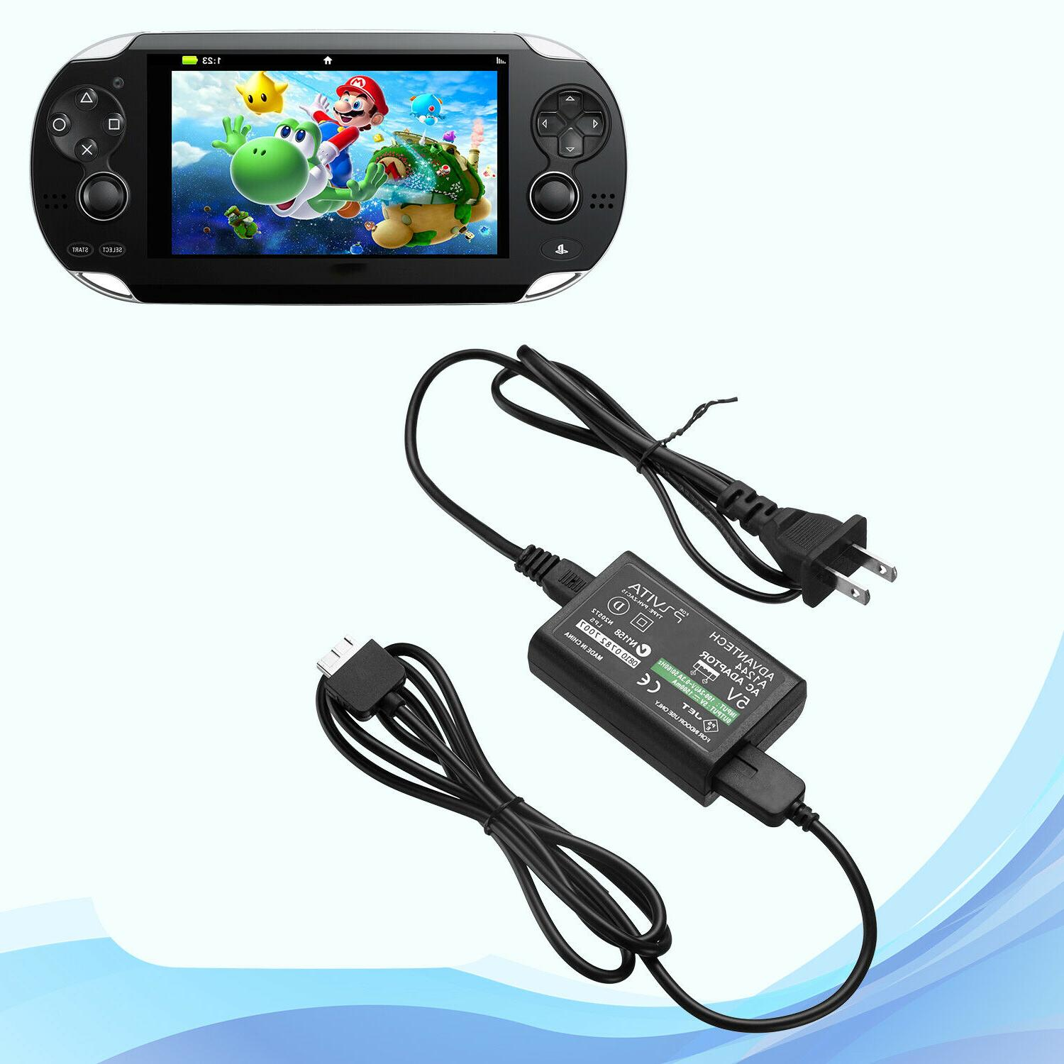 Wall AC Power USB Cable Convert Sony PS Vita PSV