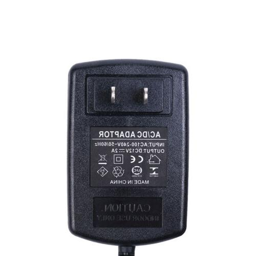 AC DC 12V US POWER ADAPTER CHARGER FOR LED STRIP