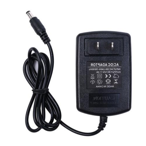 AC DC US POWER CHARGER FOR CAMERA LED STRIP CCTV