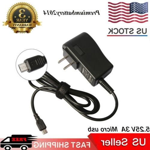 AC/DC Wall Charger Power Adapter Cord Fr Amazon Echo Dot Tap