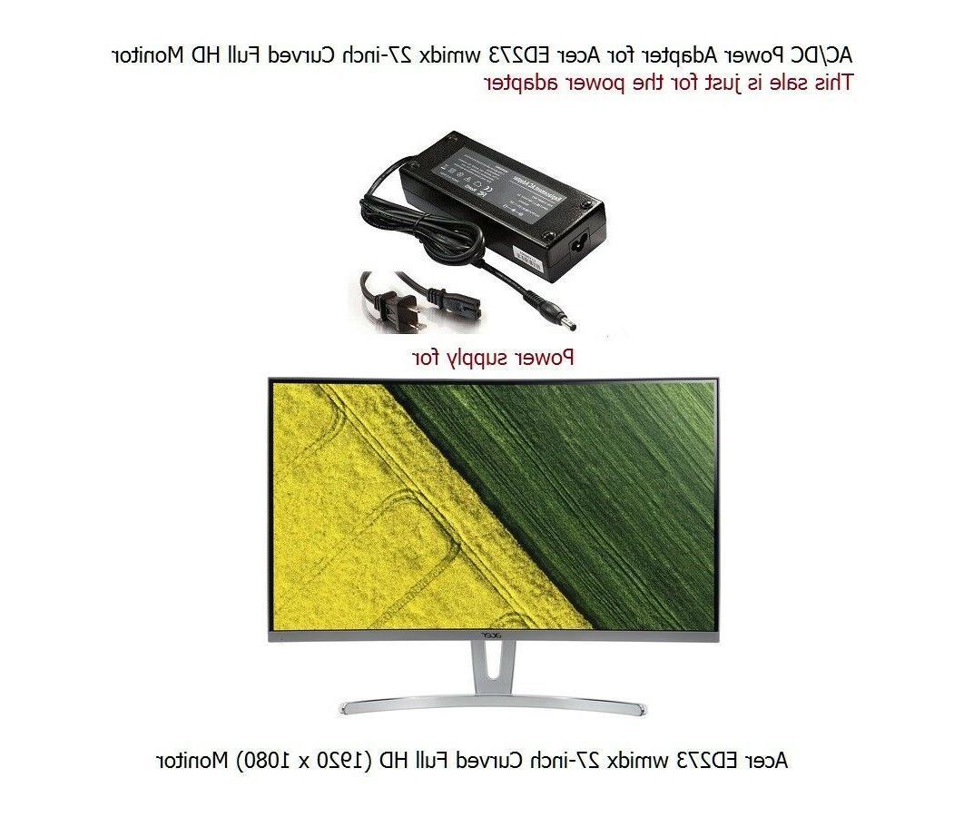 AC Power Supply ED273 LCD Monitor