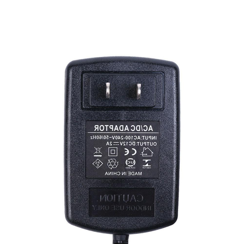 AC TO DC 2A ADAPTER FOR CAMERA / LIGHT 24W