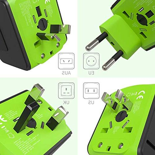 Travel Adapter Tavel Travel Universal Wall Outlet Plugs US, 160 Countries