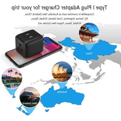 Australia New Zealand Travel Power US Ports-Type