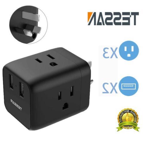 australia new zealand travel power plug adapter