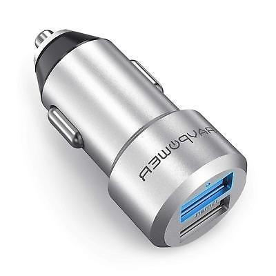 Car Charger R.A.V Mini Dual USB Adapter Two Ports ISmart2 Po