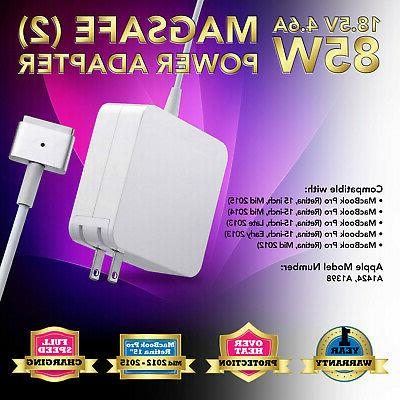 85w power adapter charger for apple macbook