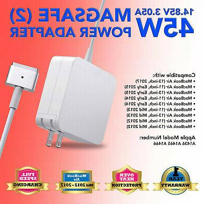 charger power adapter cord 45w for apple