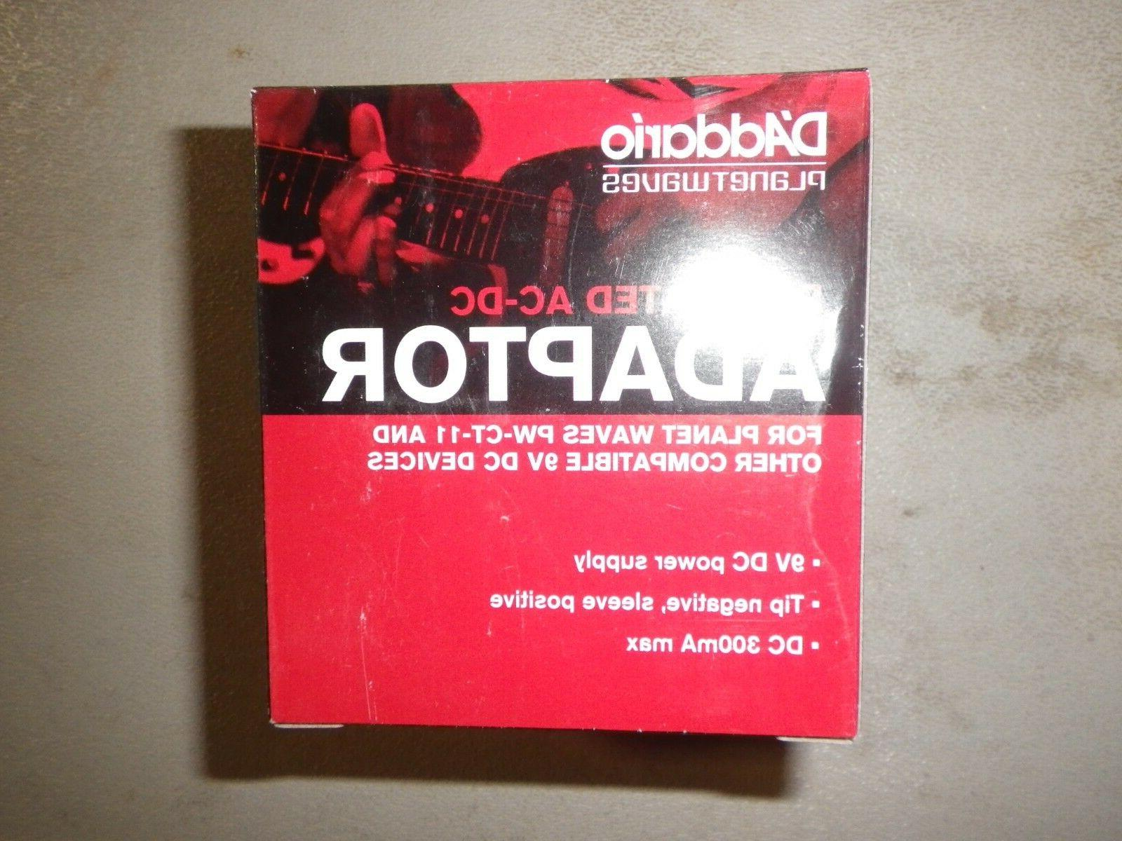 d addario planet waves regulated ac dc