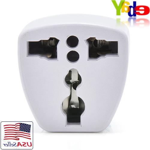 EU/UK/AU to US USA AC Power Converter Plug Travel Universal