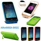 New Power Bank Charger Adapter Battery Case Cover For iPhone