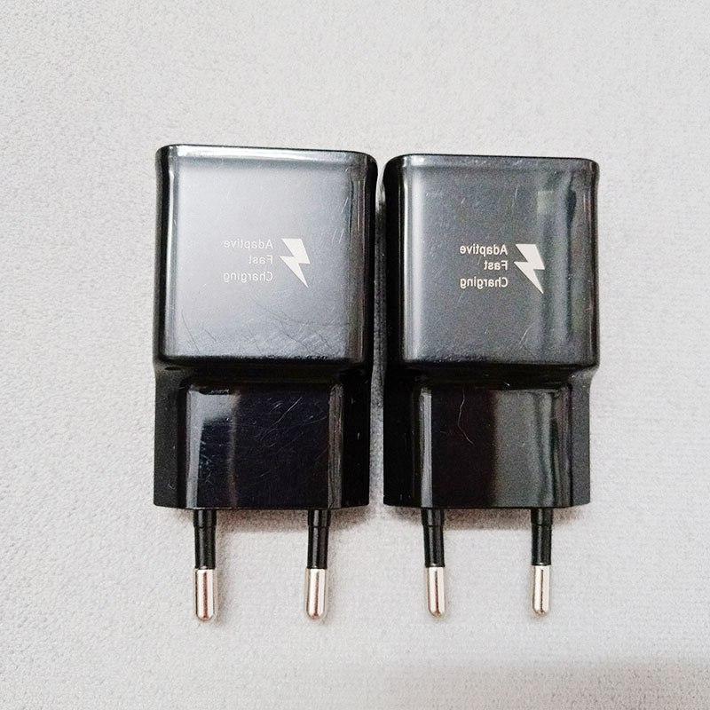 Samsung <font><b>USB</b></font> <font><b>Power</b></font> <font><b>Adapter</b></font> 9V 1.67A Quick Charge Type Cable Galaxy S9 A5 A3 2017 9