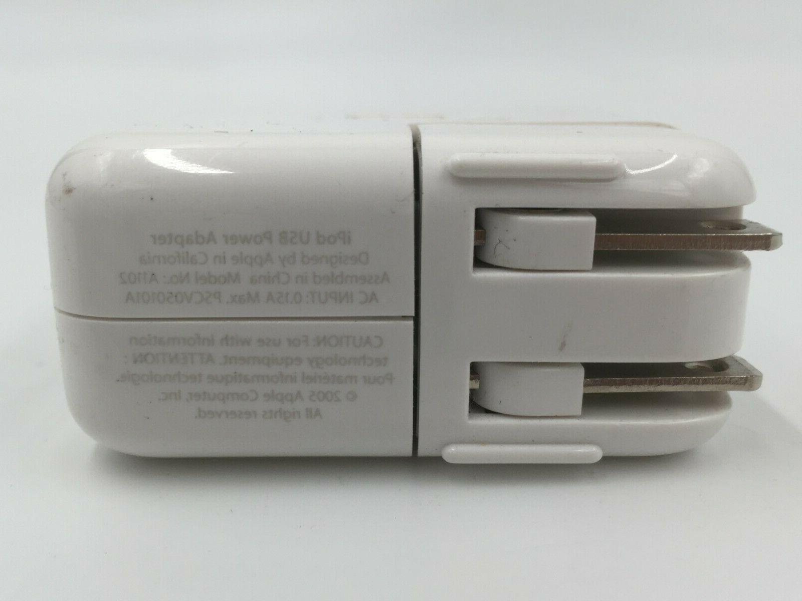 GENUINE iPod Charger A1102 Power AC Adapter CORDS