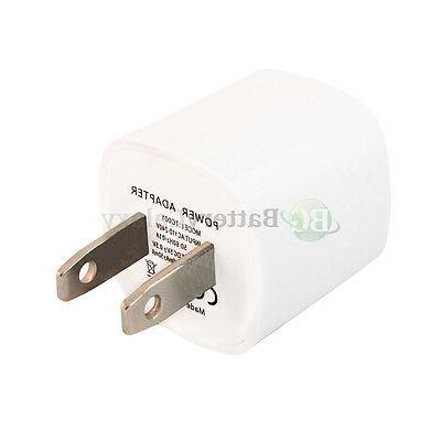 HOT! NEW USB Mini Battery Wall Power Outlet Charger Adapter