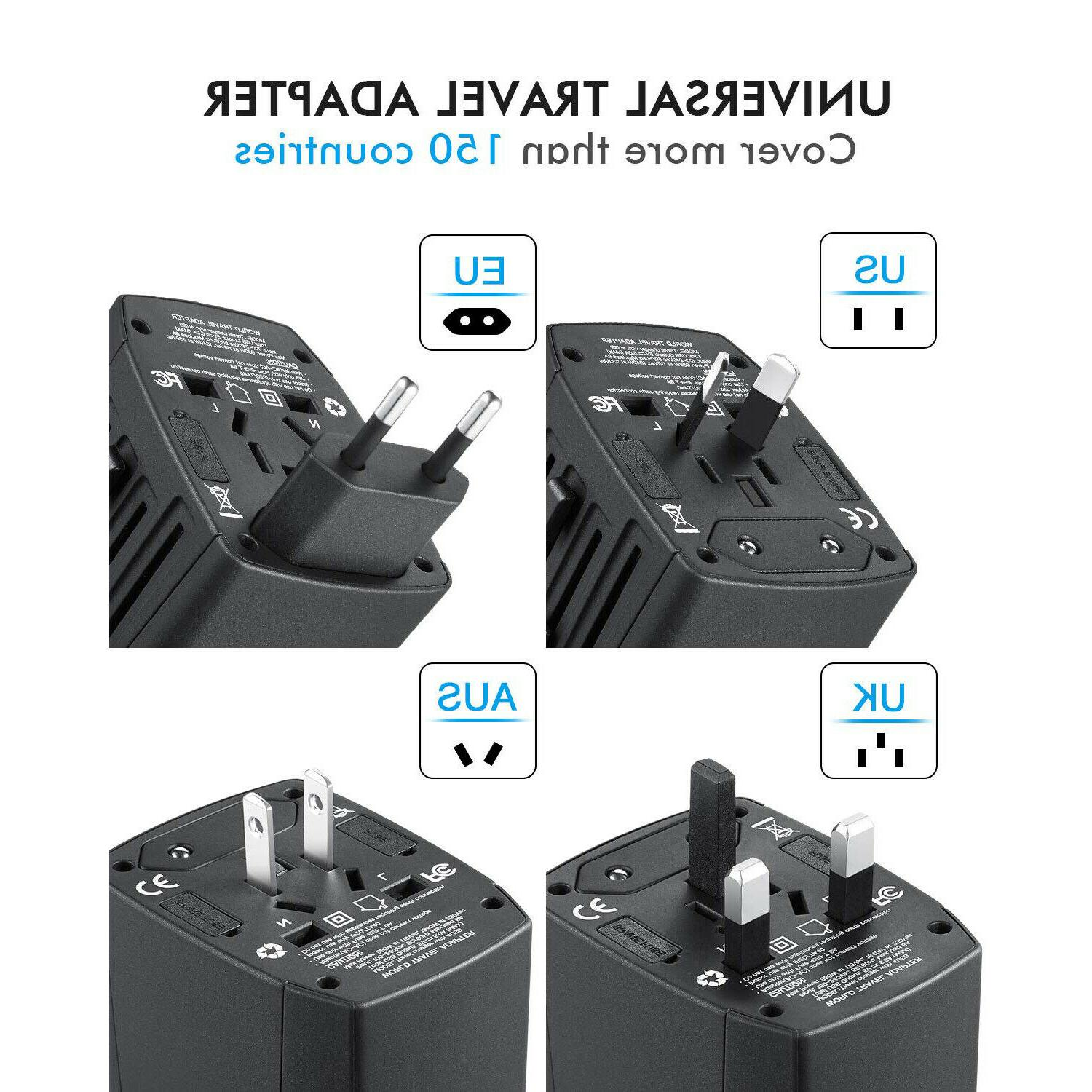 International Power Outlet Plug to US 4