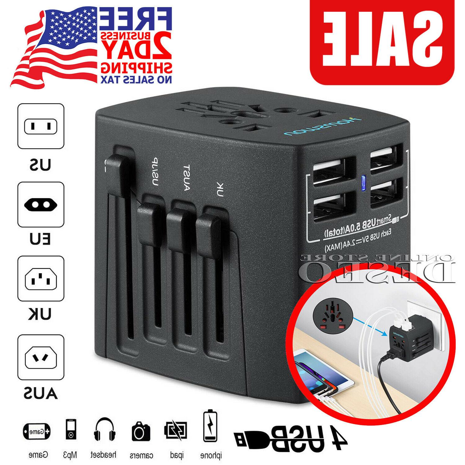 international travel adapter universal power outlet plug