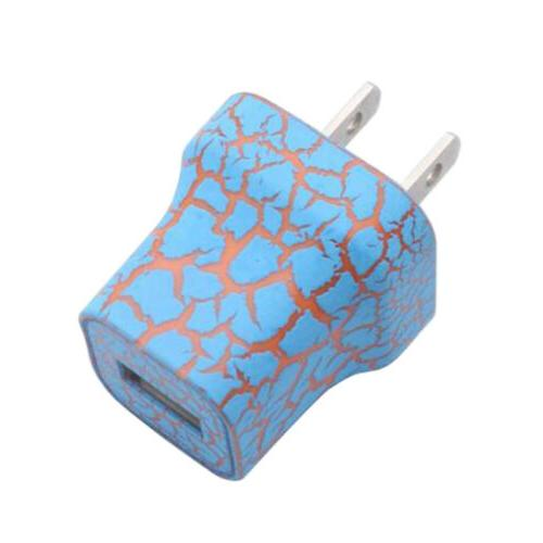 LED Light Up USB Wall 5V 1A Adapter