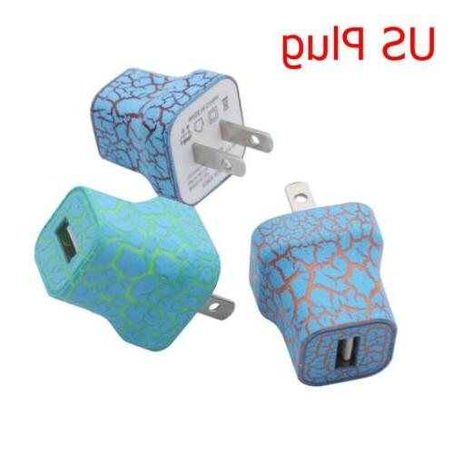 LED Up Wall Charger US 5V Adapter For