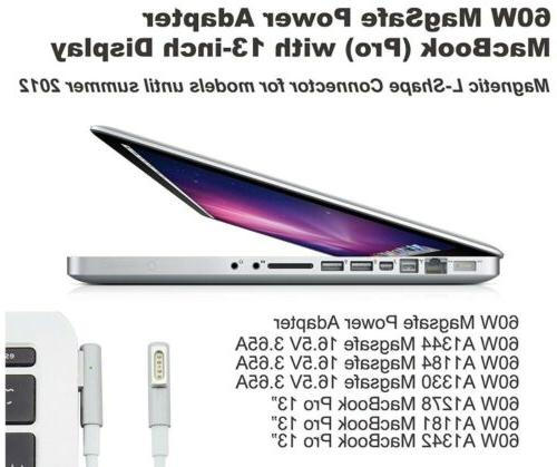 MacBook Pro 13-13.3 inch Charger, L-Tip AC