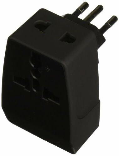 Ceptics Type N 2 USB Brazil Travel Adapter 4 in 1 Power Plug