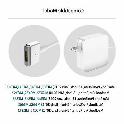 60W T-Tip Replacement Charger Apple MacBook Air, MacBook