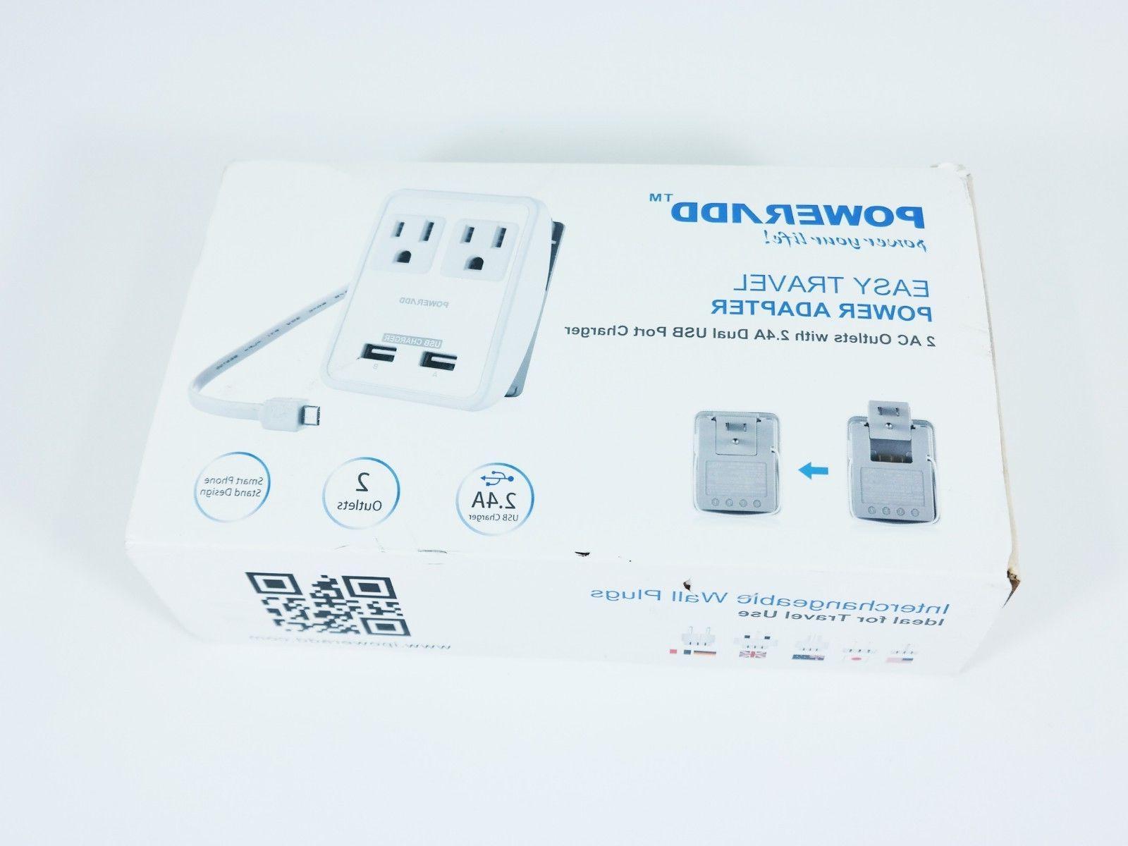 new easy travel power adapter uk us