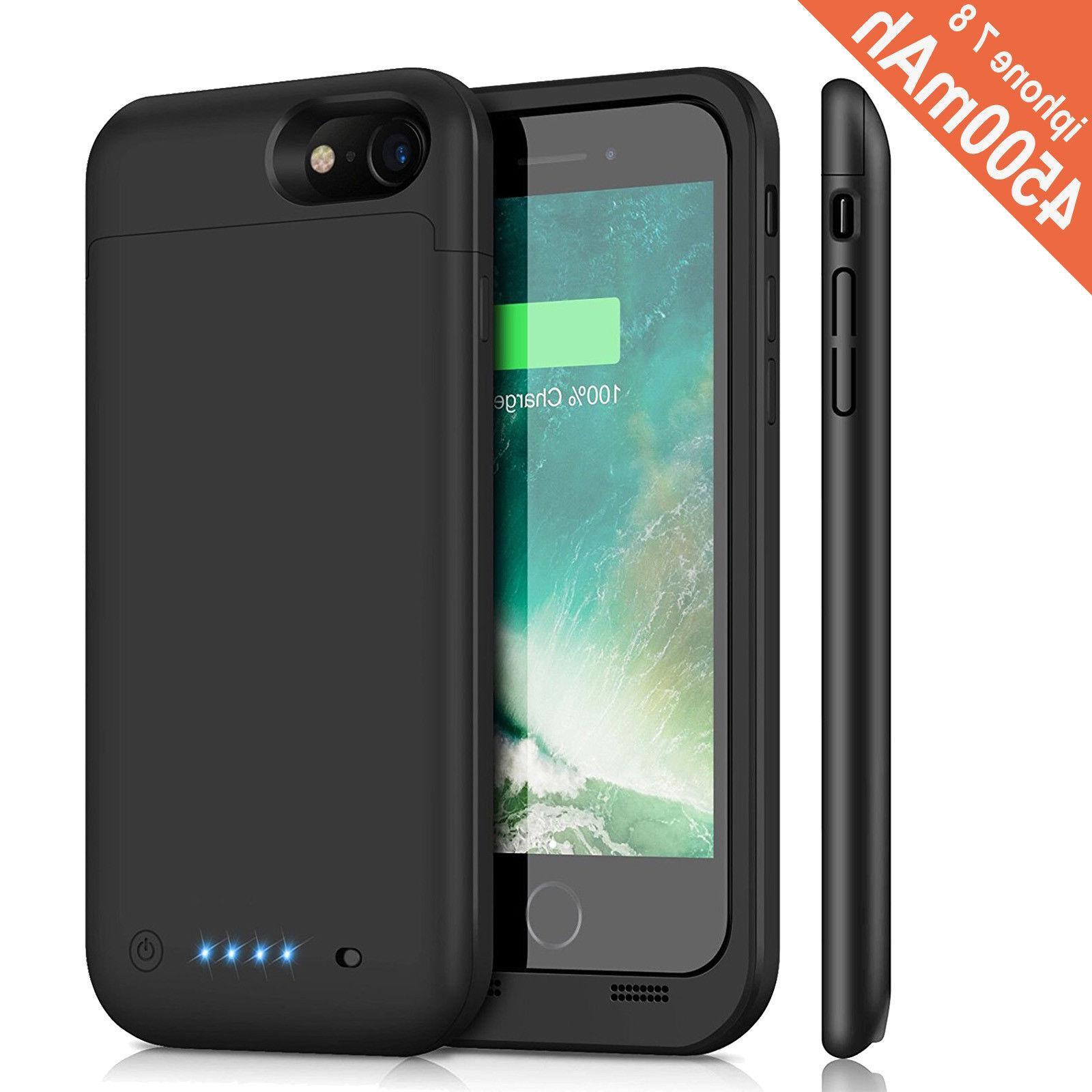 New External Pack Battery Case Adapter X/iPhone 7