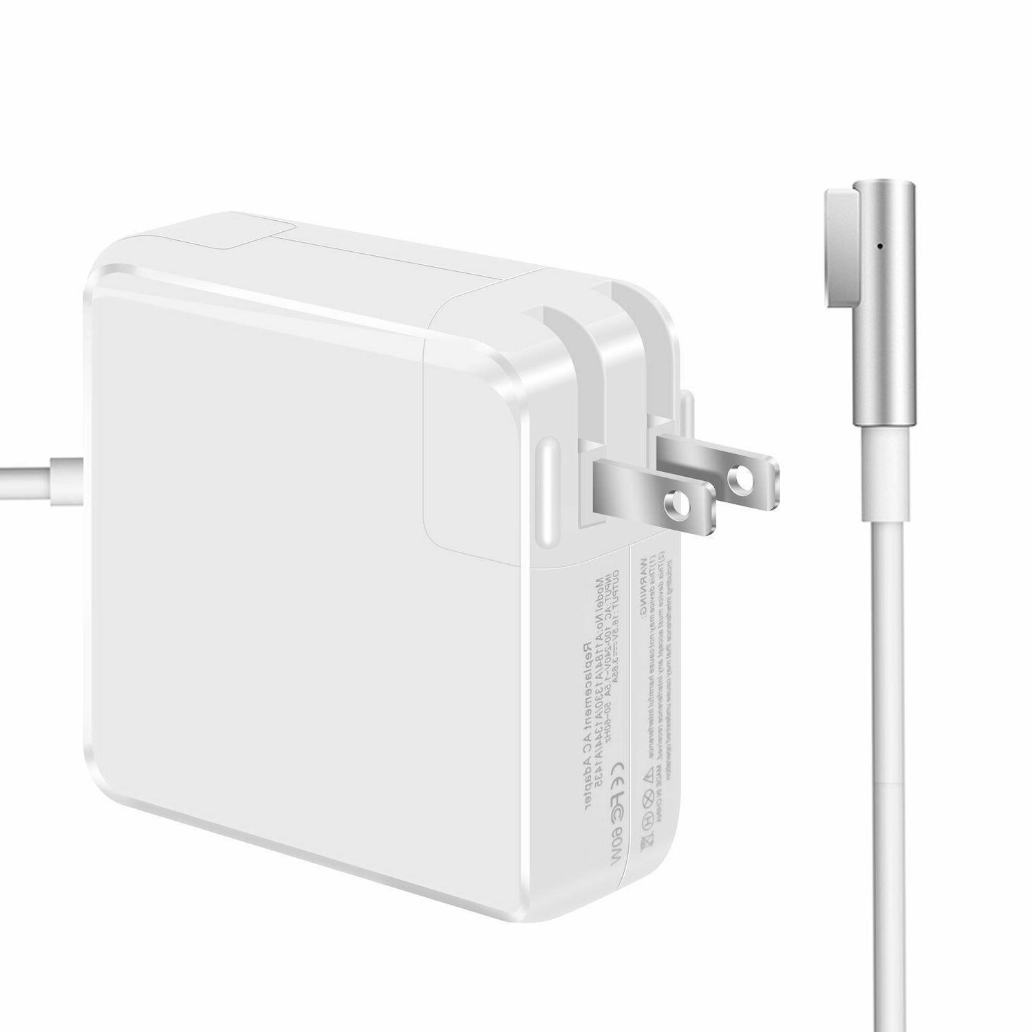 Macbook Pro Charger, 60W L-Tip Replacement Power Adapter For