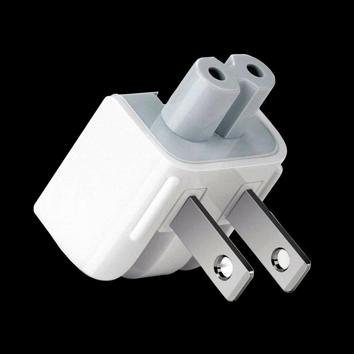 2 x Mag Safe AC Wall Adapter DUCKHEAD 2 PRONG 45W 85W Apple