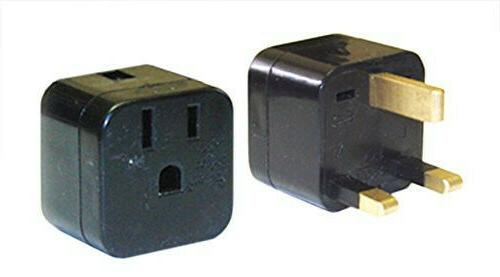 Power Bright PB-12 US to UK 3-Prong Travel Outlet Plug Adapt