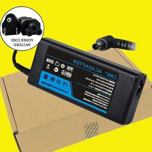 AC Adapter Charger Power Supply Cord fr Sony KDL-32W650A KDL