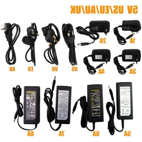 Power Supply Adapter LED Strip 1A 3A To 5V 24V
