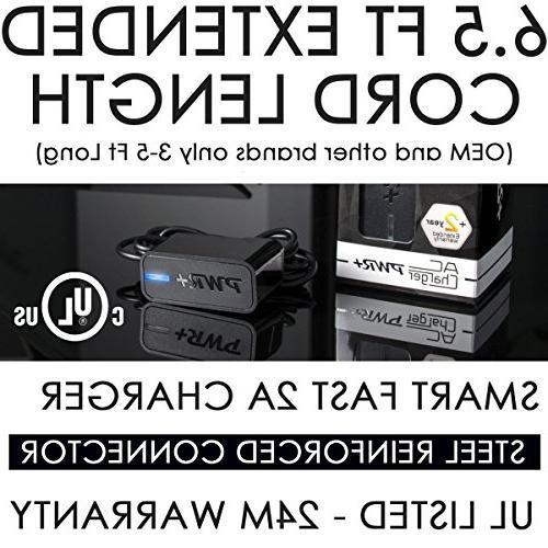 Pwr+ EXTRA LONG 6 5Ft Linksys E1200 E1500