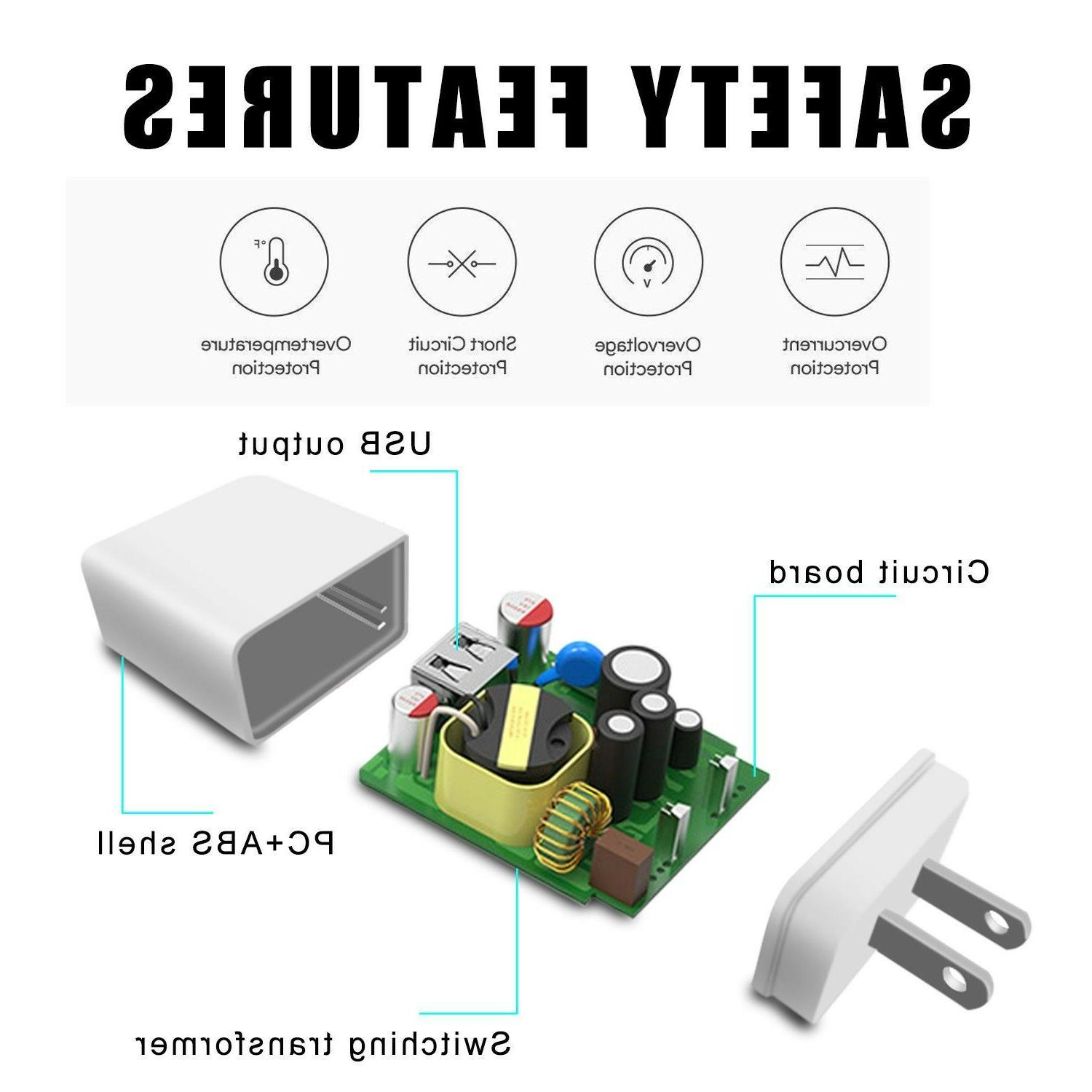 QC Quick Charger Fast Power Wall For Phone